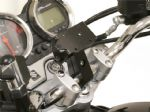 "SW MOTECH: TRIUMPH Handlebar GPS-PDA mount for 7/8"" 22mm Bars. GPS.00.308.100 B"